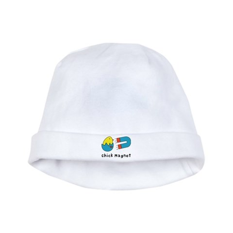 Chick Magnet  Cute baby hat by CafePress