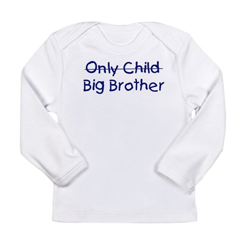 Big Brother  Family Long Sleeve Infant T-Shirt by CafePress