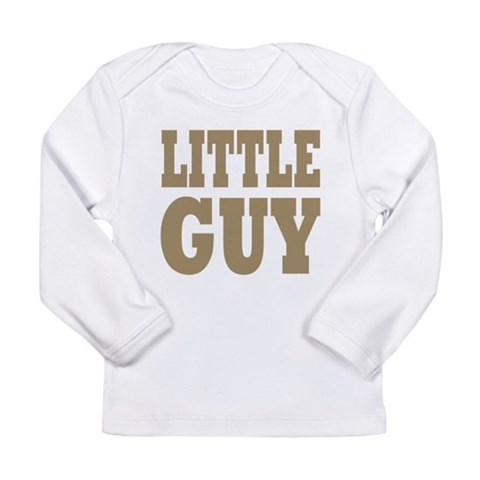 Big guy - Little Guy:  Pets Long Sleeve Infant T-Shirt by CafePress
