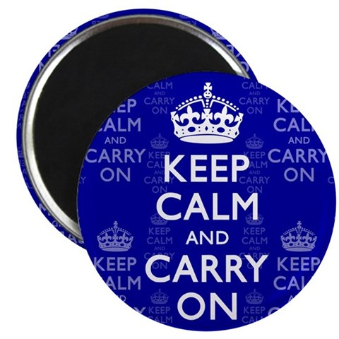 2.25quot; Magnet 100 pack Humor 2.25 Magnet 100 pack by CafePress