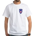 Airborne White T-Shirt