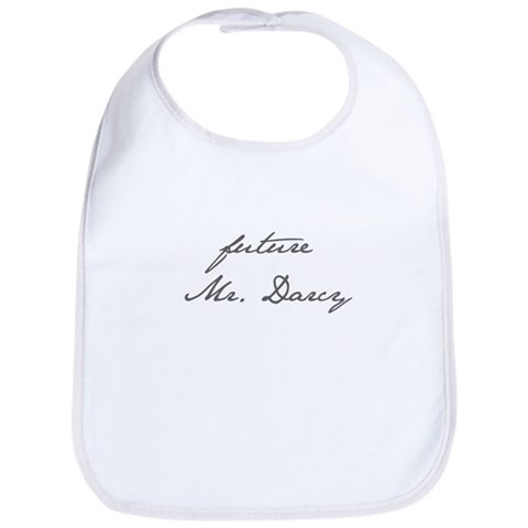 - Future Mr. Darcy Baby Bib by CafePress