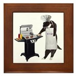 Cooking Cat Framed Tile/Hot plate