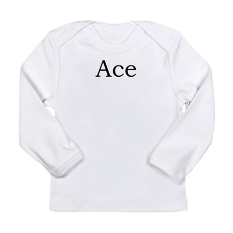 Ace 2  Sports Long Sleeve Infant T-Shirt by CafePress