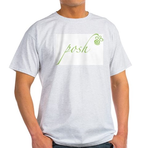 Lime Green Posh Cute Light T-Shirt by CafePress