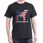 American Shar Pei Dog Flag Memorial Day US T-Shirt