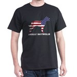American Rottweiler Dog Flag Memorial Day T-Shirt