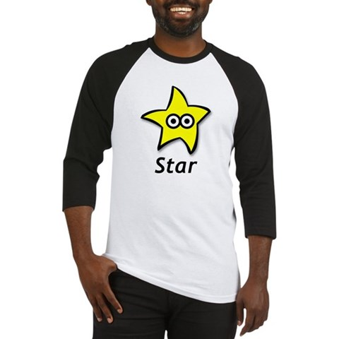 - Star Funny Baseball Jersey by CafePress