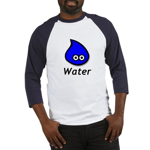 - Water Funny Baseball Jersey by CafePress