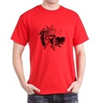 Fibonacci Bats Red T-Shirt