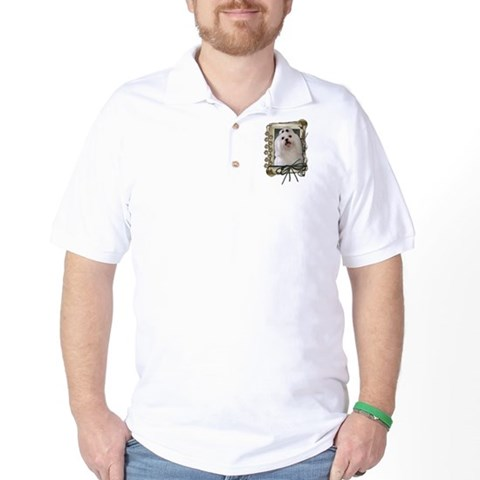 Product Image of Fathers Day - Stone Paws Golf Shirt
