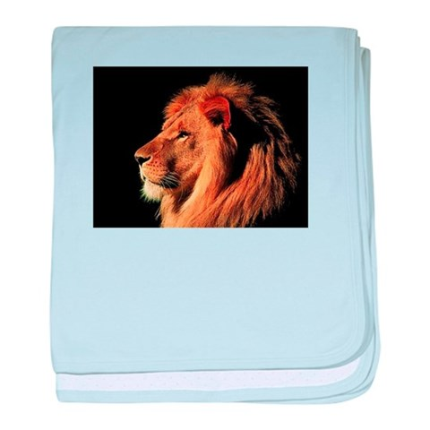 Animal baby blanket by CafePress