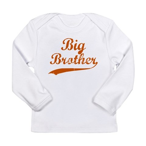 Big Brother Sport  Family Long Sleeve Infant T-Shirt by CafePress