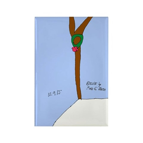 - A Holiday Wish Thanksgiving Rectangle Magnet by CafePress