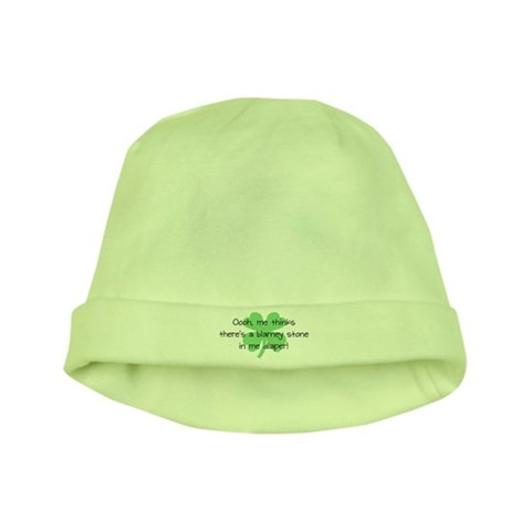 Blarney Stone in Diaper  Baby baby hat by CafePress