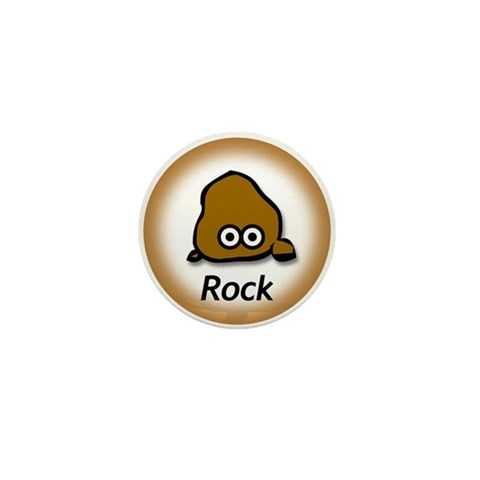 - Rock  Mini Button by CafePress