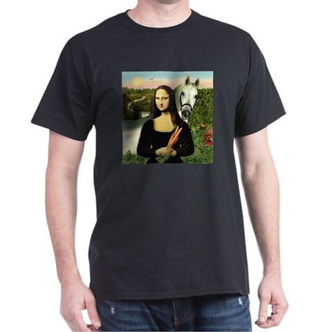 Product Image of Mona's Arabian Horse (#1) Dark T-Shirt