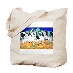 Appaloosa Horse Dance Tote Bag