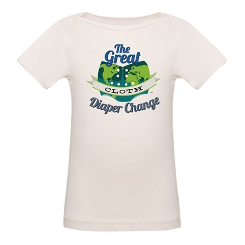 Great Cloth Diaper Change  Cupsreviewcomplete Organic Baby T-Shirt by CafePress