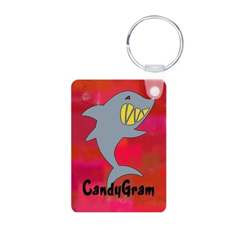 CandyGram  Pop culture Aluminum Photo Keychain by CafePress