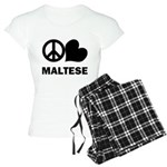 Maltese Women's Pajamas