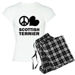 Scottish Terrier Women's Pajamas