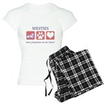 Westie Women's Pajamas