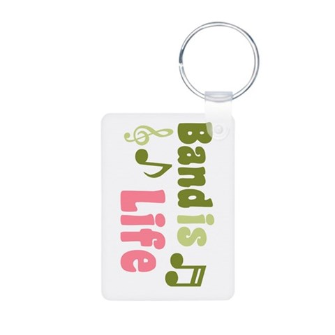 Band is Life  Music Aluminum Photo Keychain by CafePress