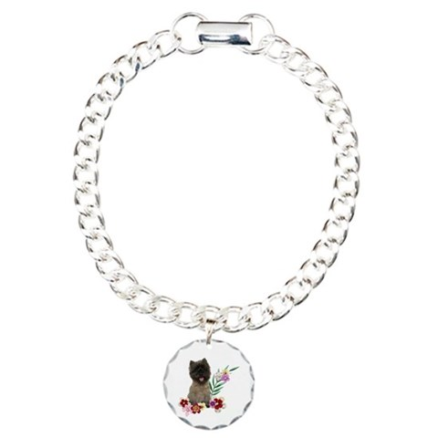 Cairn Terrier  Pets Charm Bracelet, One Charm by CafePress