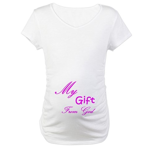 Product Image of My Gift From God Maternity T-Shirt