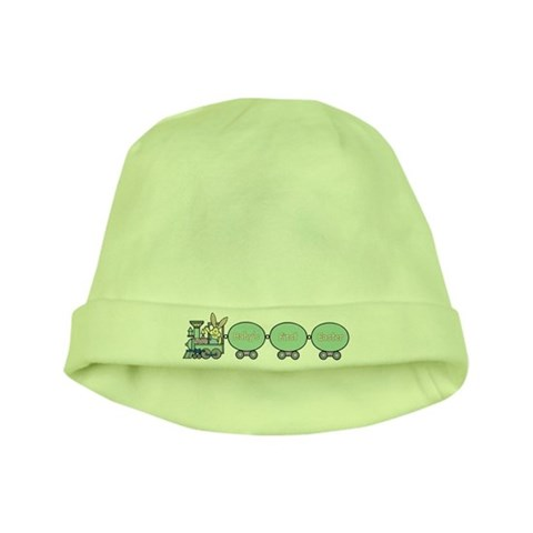 Baby's First Easter Train  Cute baby hat by CafePress