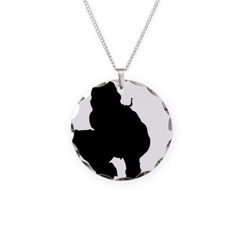 CATCHER 1 : solid  Sports Necklace Circle Charm by CafePress