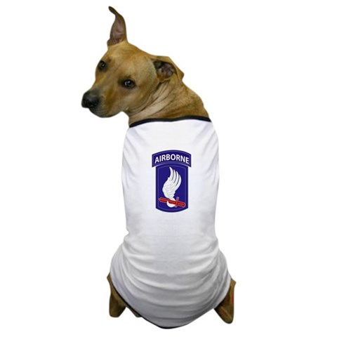 173rd AIRBORNE  Military Dog T-Shirt by CafePress
