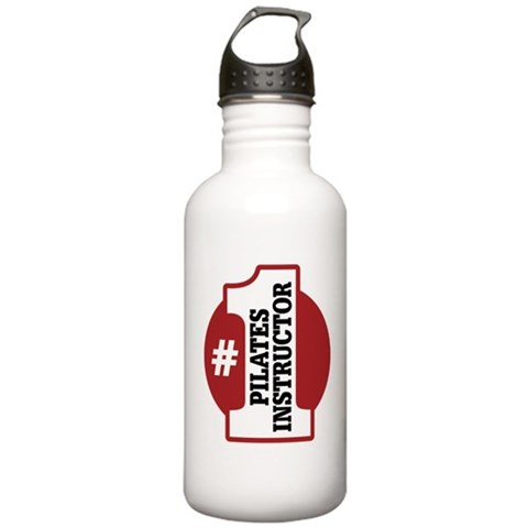 1 Pilates Instructor  Exercise Stainless Water Bottle 1.0L by CafePress