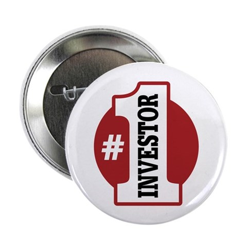 1 Investor  Occupation 2.25 Button 100 pack by CafePress