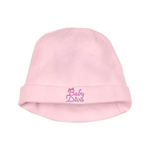 Baby Diva  Cute baby hat by CafePress