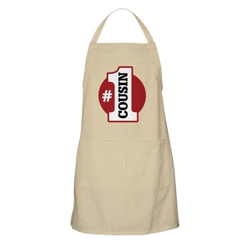 1 Cousin  Family Apron by CafePress