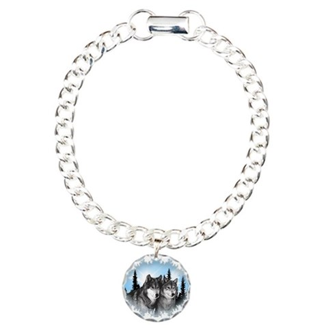 Cool Charm Bracelet, One Charm by CafePress