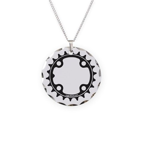 ChainRing  Sports Necklace Circle Charm by CafePress