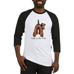Airedale Terrier Talk Baseball Jersey