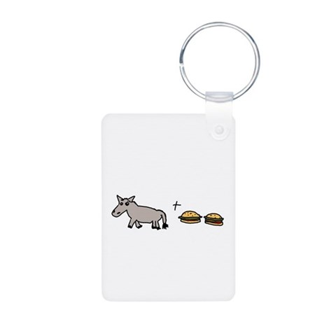 Assburgers  Autism Aluminum Photo Keychain by CafePress