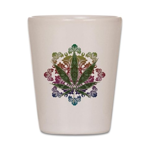 420 Graphic Design  420 Shot Glass by CafePress