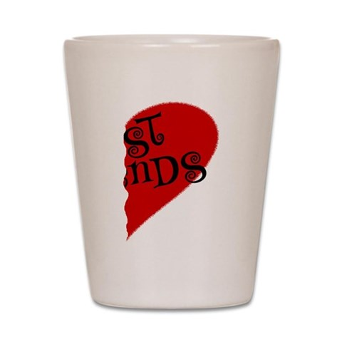 Best Friends  Humor Shot Glass by CafePress