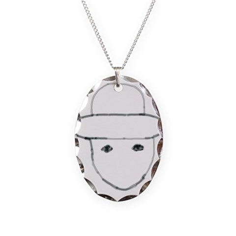 Have You Seen  Funny Necklace Oval Charm by CafePress