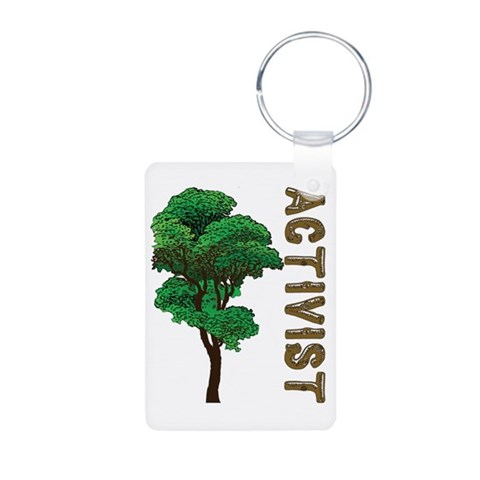Activist  Hobbies Aluminum Photo Keychain by CafePress