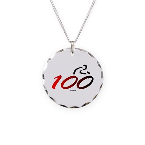 Century - 100  Sports Necklace Circle Charm by CafePress