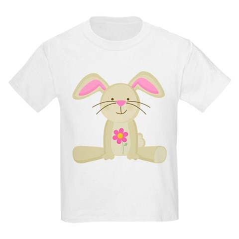 Product Image of Easter Bunny Spring Kids Light T-Shirt