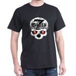 7 Vials of the apocalypse Black T-shirt