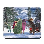 Cats Getting Tree Mousepad