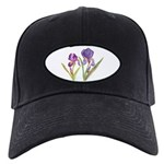Purple Iris by Wendy C. Allen Black Cap